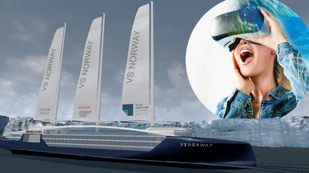 «VS Norway» et virtuelt cruiseskip for hele klyngen